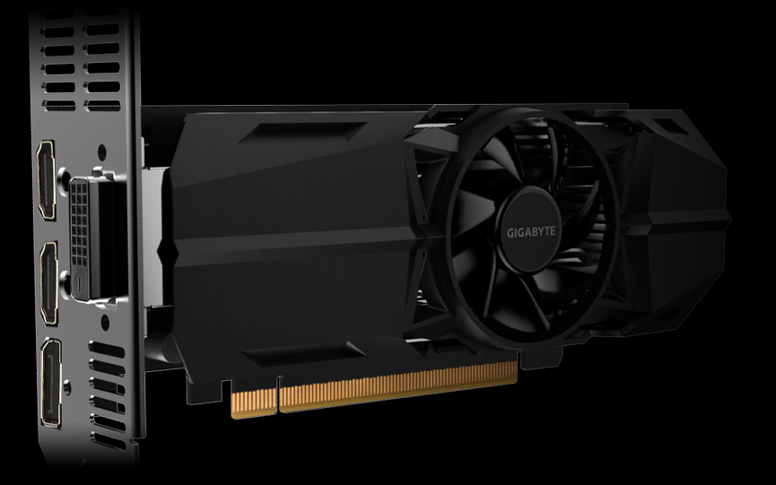 GeForce® GTX 1050 Ti OC Low Profile 4G | Graphics Card