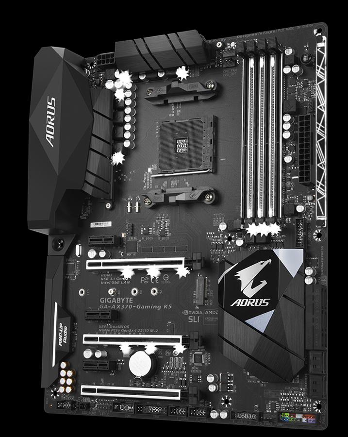 GA-AX370-Gaming K5 (rev  1 x) | Motherboard - GIGABYTE Global