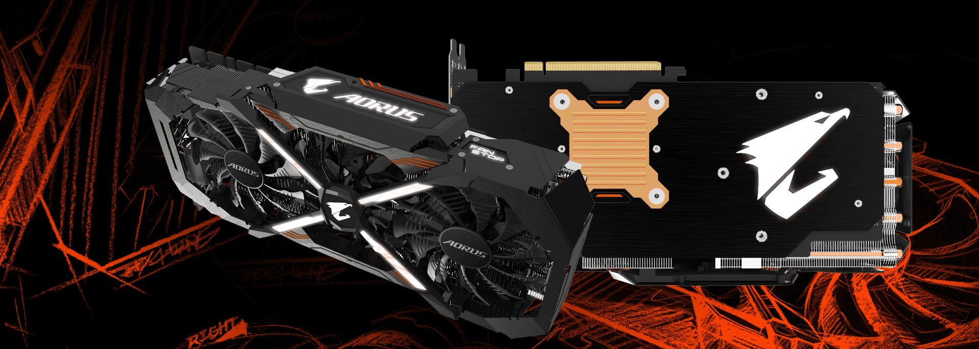 Aorus Geforce Gtx 1080 Ti Xtreme Edition 11g Graphics Card Asus 11gb Ddr5x Rog Poseidon Cycling Smoothly Cycles Through All Colors