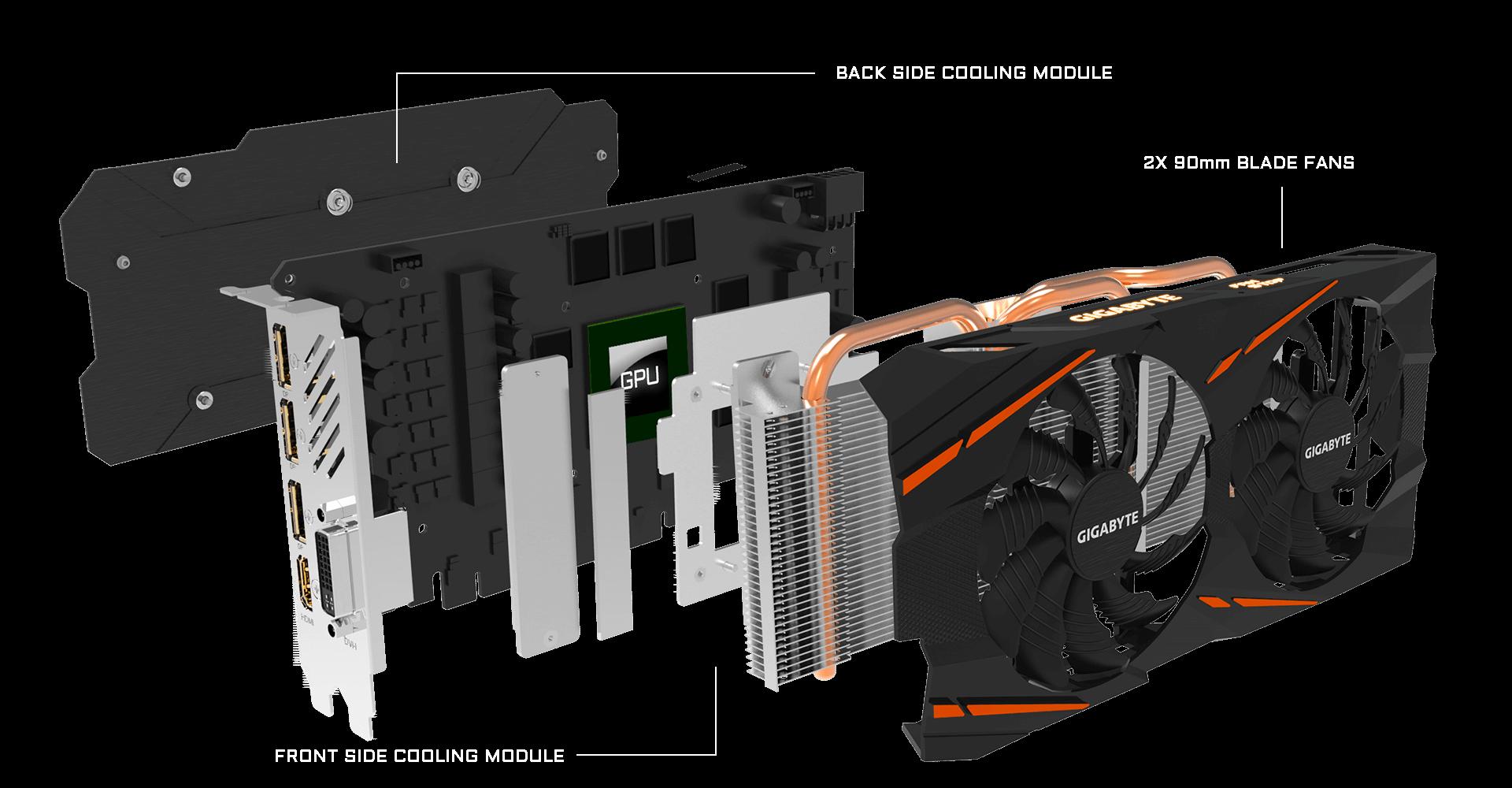 Radeon™ RX 570 Gaming 4G - MI 1 optimark