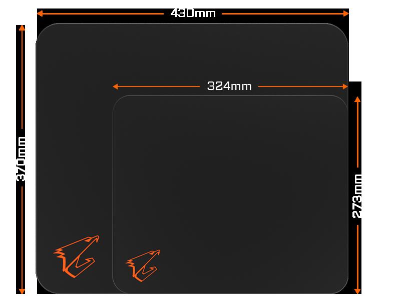 Gigabyte Aorus Amp300 Mouse Pad