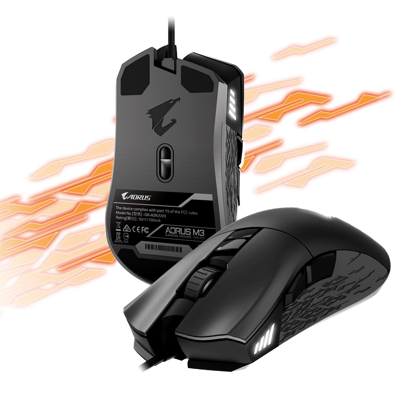 578d5cdfd38 AORUS M3 | Mouse - GIGABYTE Global