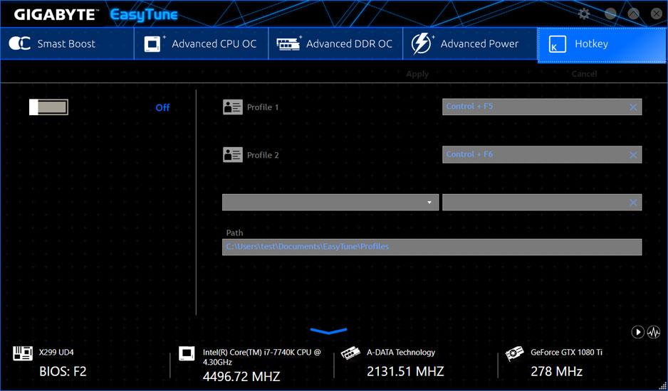 X299 UD4 (rev  1 0) | Motherboard - GIGABYTE Global