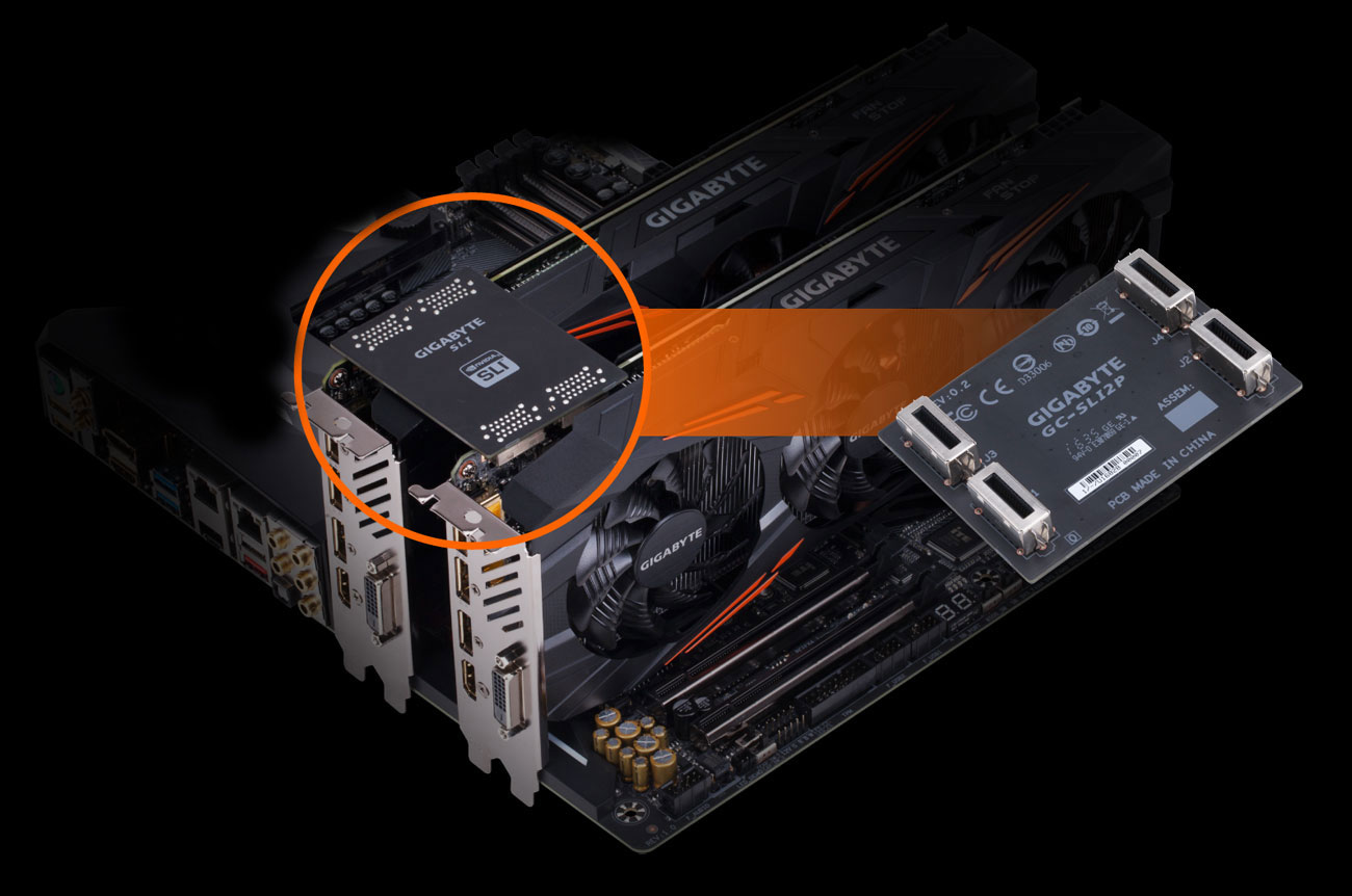 X299 Aorus Ultra Gaming Rev 10 Motherboard Gigabyte Usa Pin Atx Diagram On Pinterest Take Your Performance To A Whole New Level By Configuring Multiple Geforce Gtx Cards With High Bandwidthhb Sli Bridge