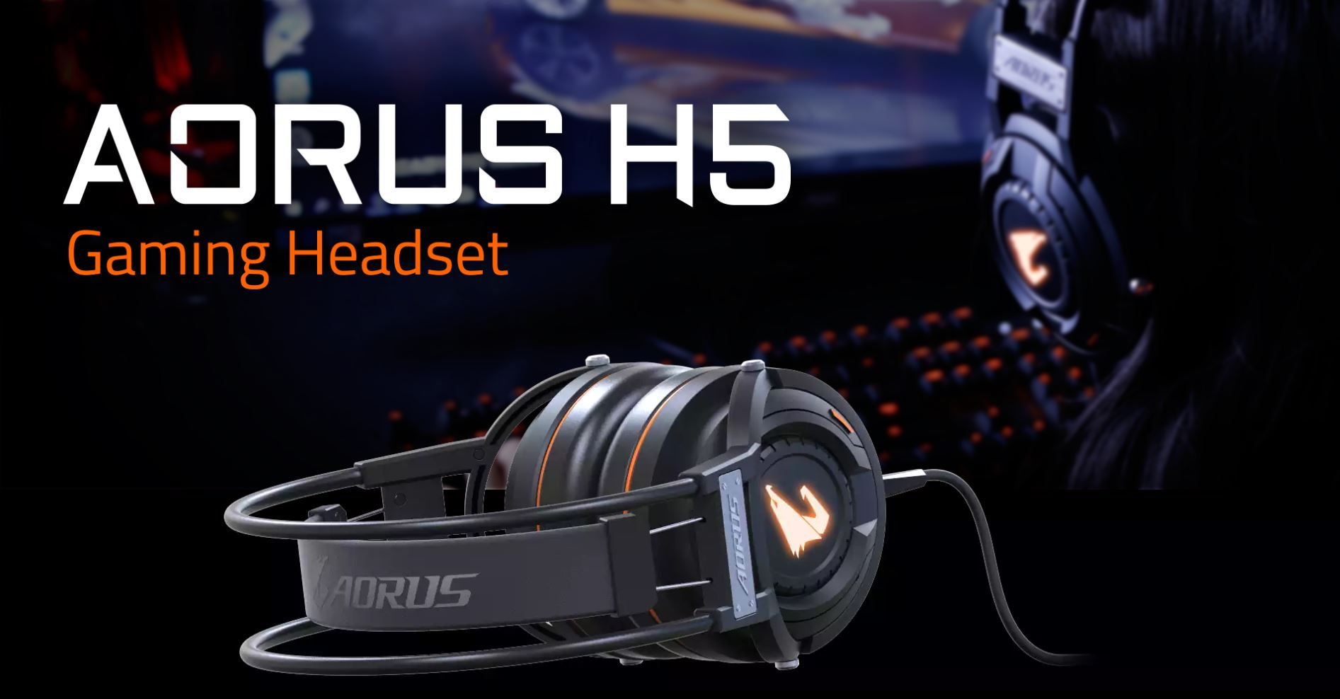Gigabyte AORUS H5 Gaming Headset 8