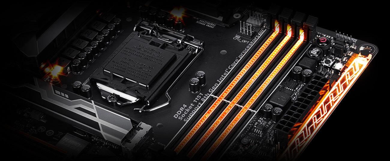 PARTS-QUICK Brand 16GB Memory for Gigabyte GA-Z270-Gaming K3 Motherboard DDR4 2400MHz Non-ECC UDIMM Memory