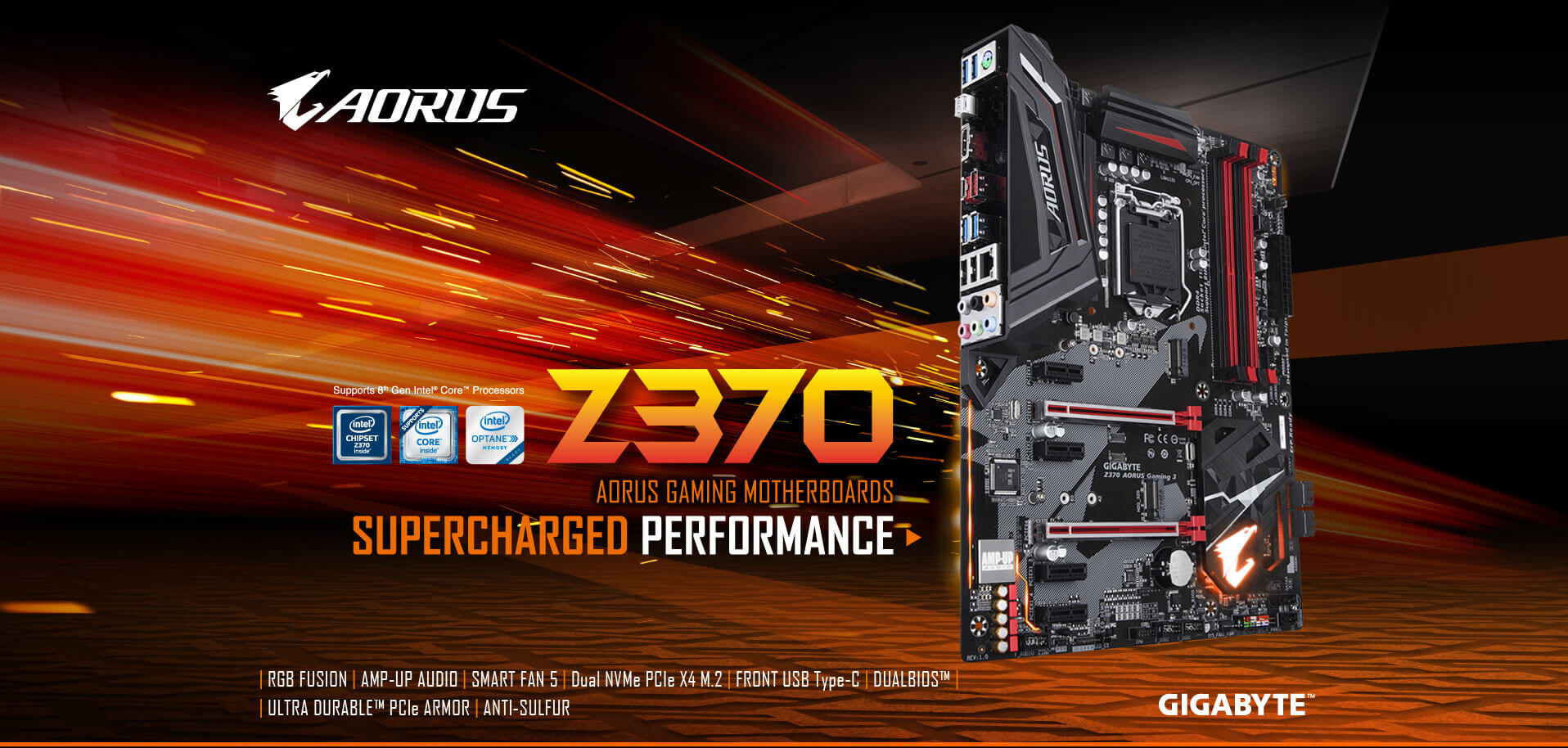 Z370 AORUS Gaming 3 (rev  1 0) | Motherboard - GIGABYTE Global