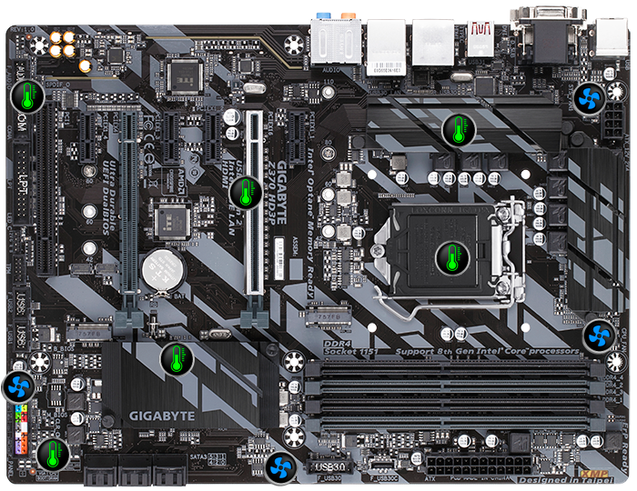 Z370 HD3P (rev  1 0) | Motherboard - GIGABYTE Global