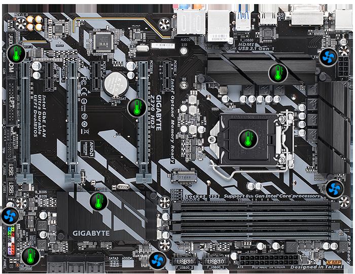 Z370 HD3 (rev  1 0) | Motherboard - GIGABYTE Global