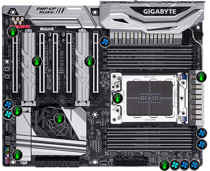 X399 DESIGNARE EX (rev  1 0) | Motherboard - GIGABYTE U S A