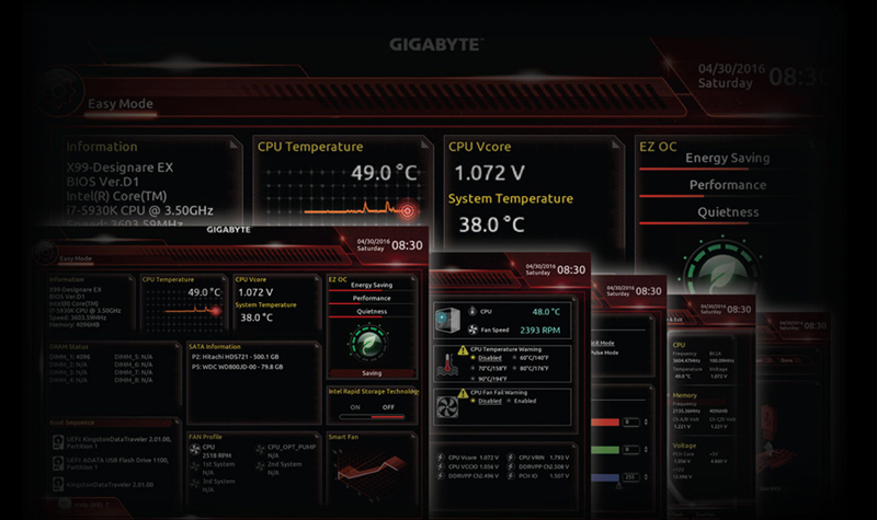 X399 DESIGNARE EX (rev  1 0) | Motherboard - GIGABYTE Global