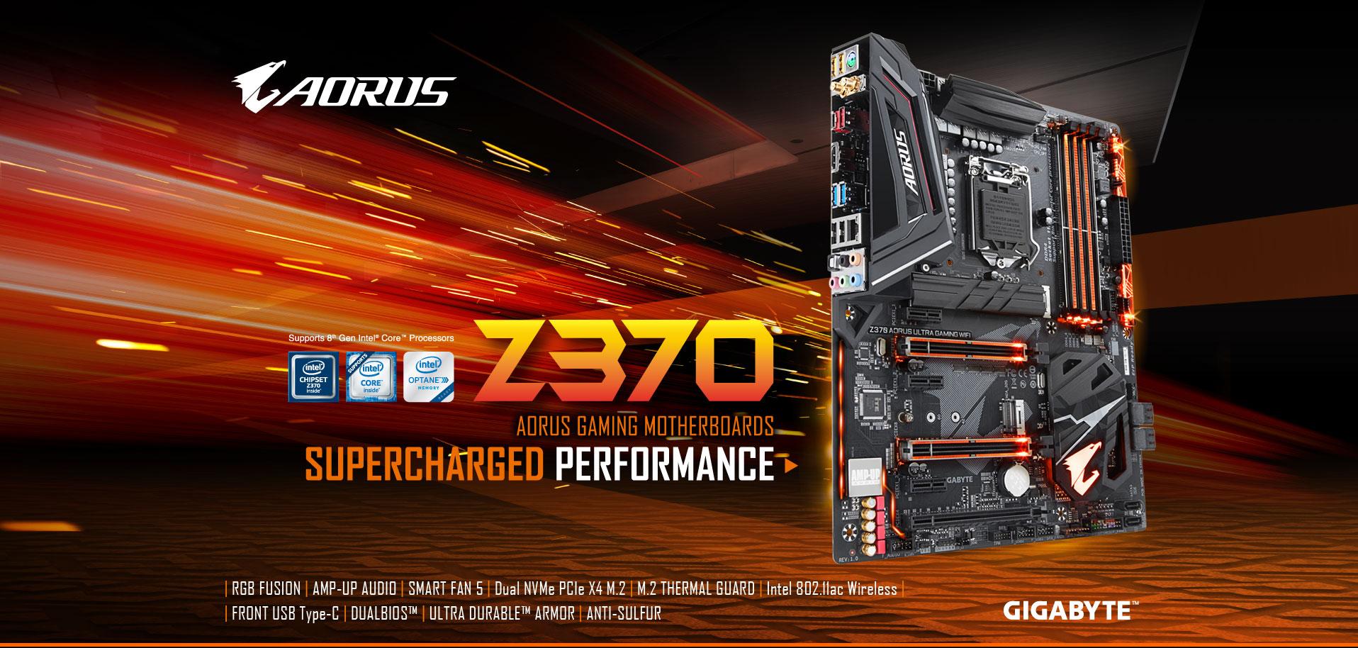 Z370 AORUS ULTRA GAMING WIFI (rev  1 0) | Motherboard