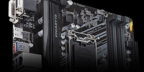 New Gigabyte B360 HD3 Intel LGA-1151 DDR4 ATX Desktop Motherboard RGB Lights