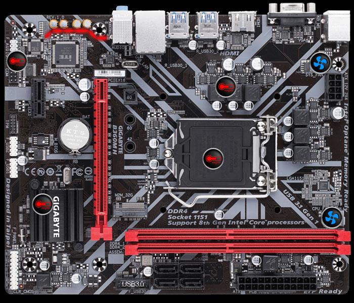 B360M H (rev  1 0)   Motherboard - GIGABYTE Global