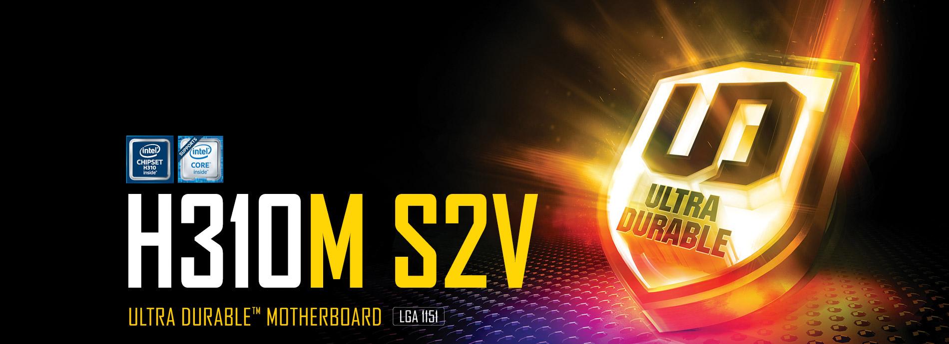 H310M S2V (rev  1 0)   Motherboard - GIGABYTE Global