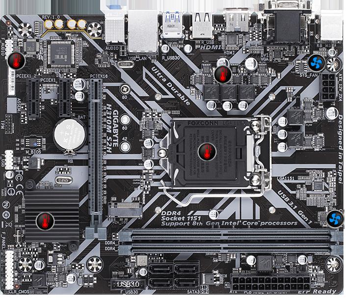 H310M S2H (rev  1 0) | Motherboard - GIGABYTE Global
