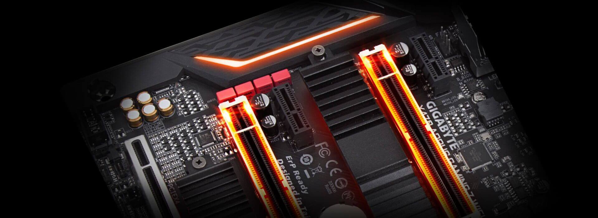 X470 Aorus Gaming 7 Wifi Rev 10 Motherboard Gigabyte Global Power Connectors Of The Front Panel Connector For Your Reference Swappable Overlay Accent Led