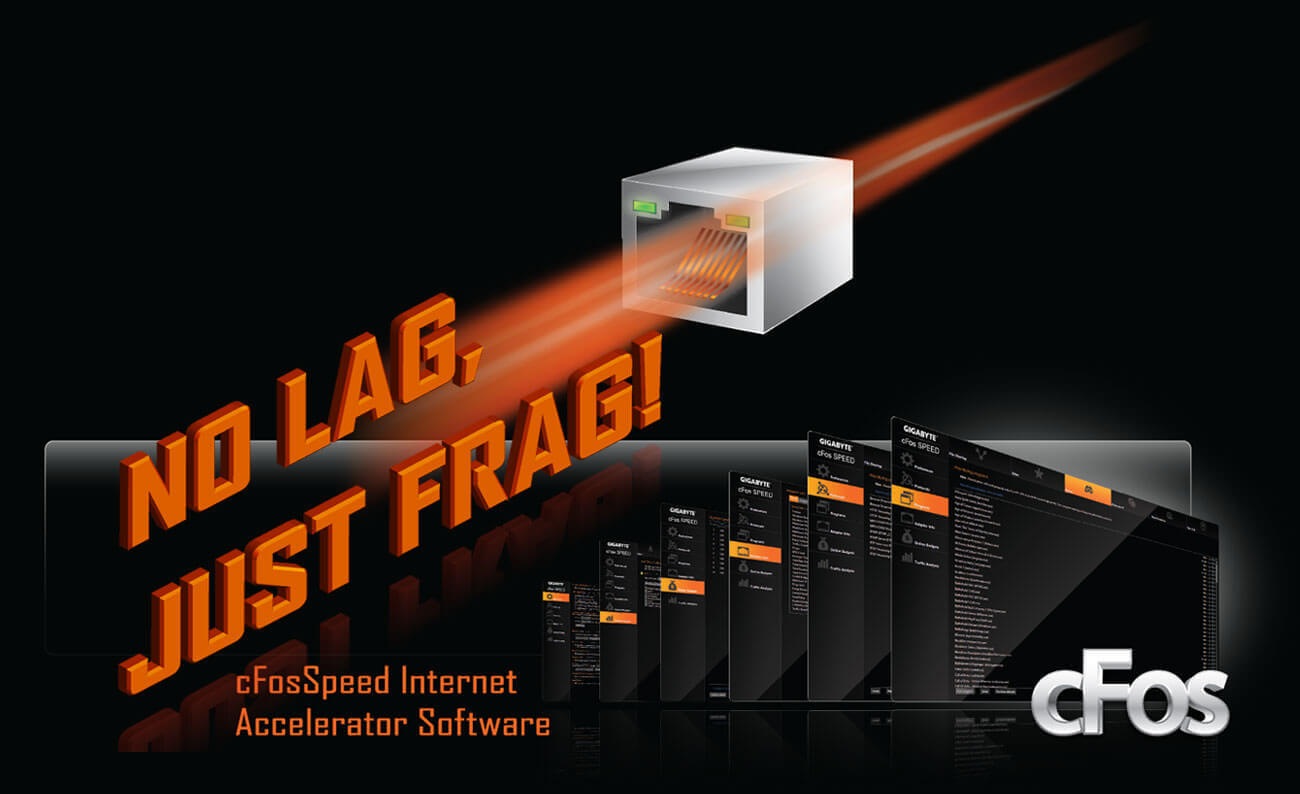 X470 Aorus Gaming 7 Wifi Rev 10 Motherboard Gigabyte Global 2 Speed Fan Wiring Diagram Intel Gbe Lan Features Cfosspeed A Network Traffic Management Application Which Helps To Improve Latency And Maintain Low Ping Times Deliver