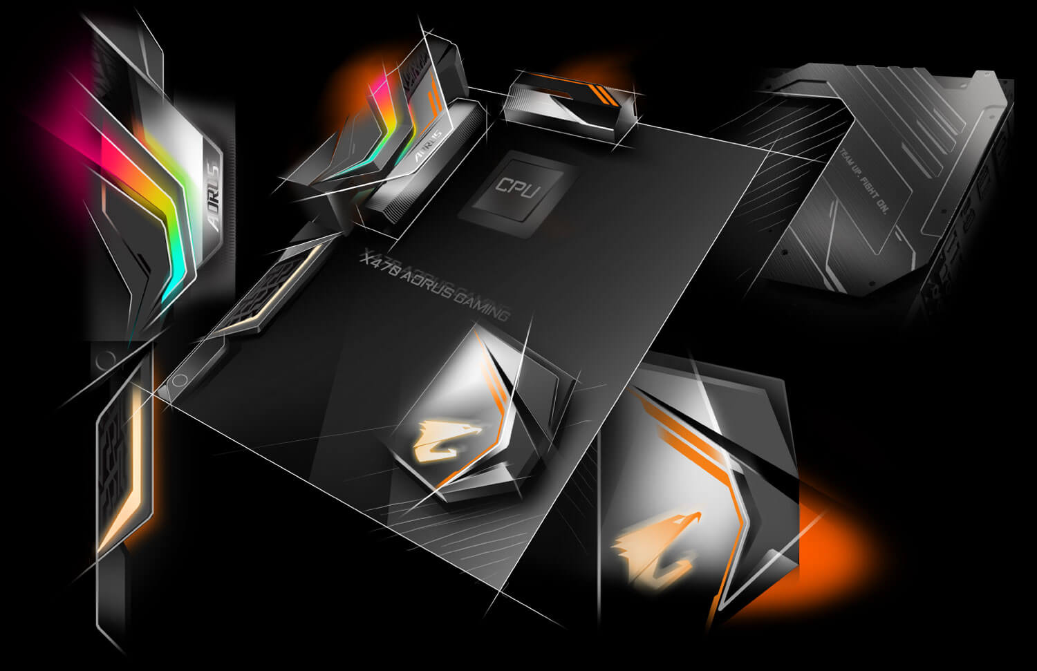 X470 Aorus Ultra Gaming Rev 10 Motherboard Gigabyte Global Led Beat Box Wiring Diagram Design Concept