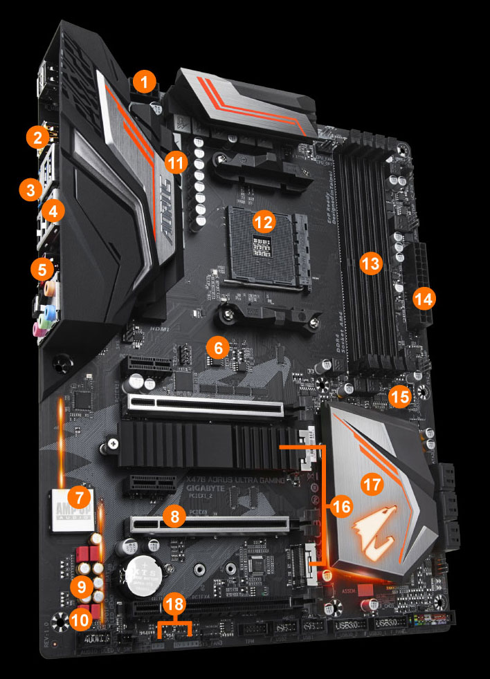 X470 AORUS ULTRA GAMING (rev  1 0) | Motherboard - GIGABYTE