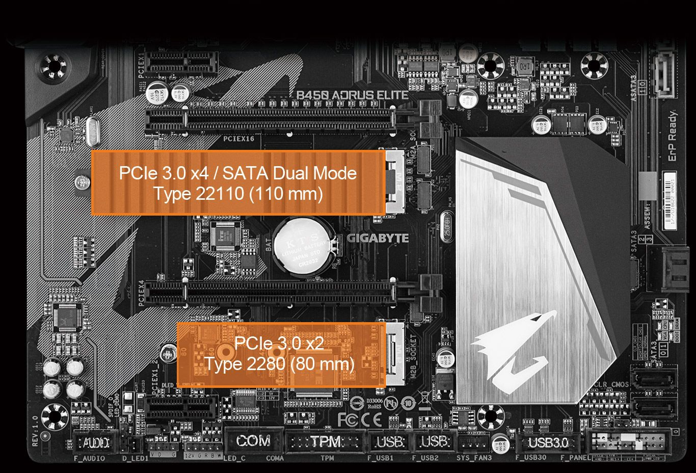 B450 AORUS ELITE (rev  1 0) | Motherboard - GIGABYTE Global