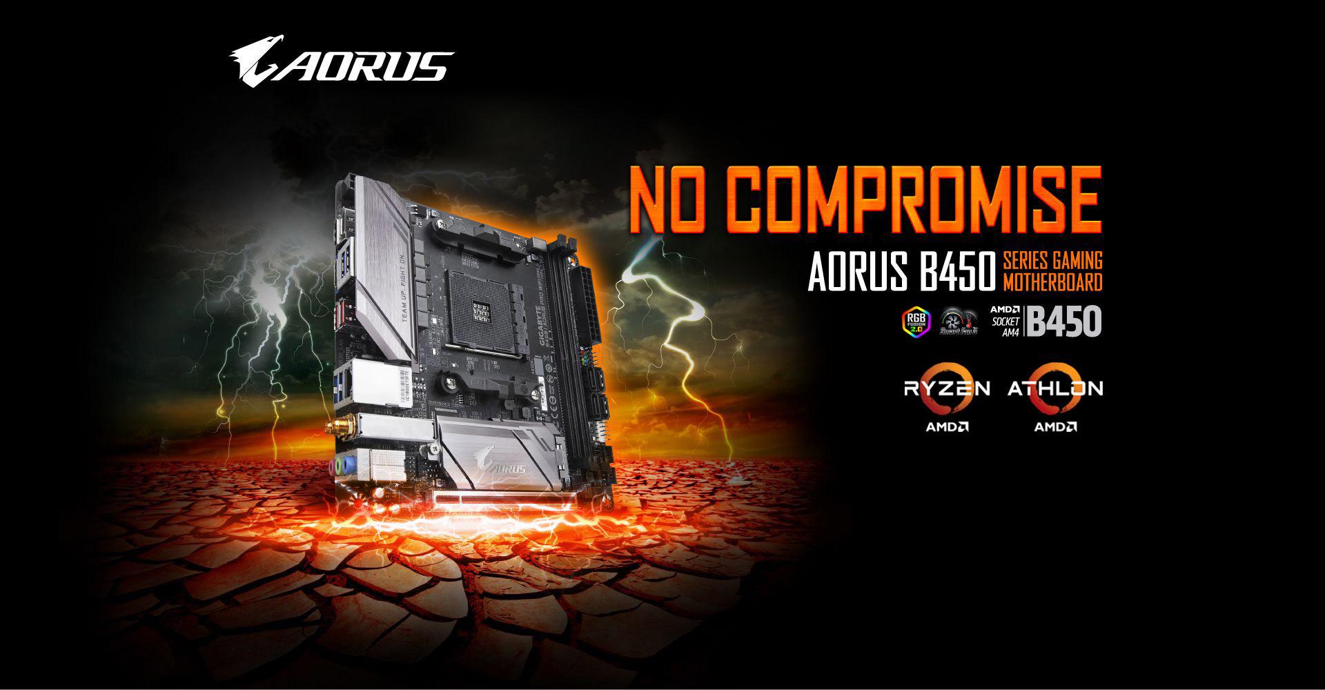 B450 I AORUS PRO WIFI (rev  1 0) | Motherboard - GIGABYTE Global