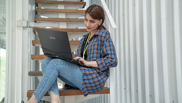 AERO Creator Laptop All-Day Battery Life