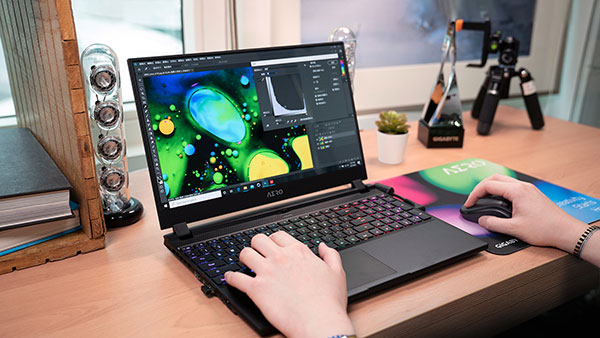 AERO Creator Laptop Graphic Design