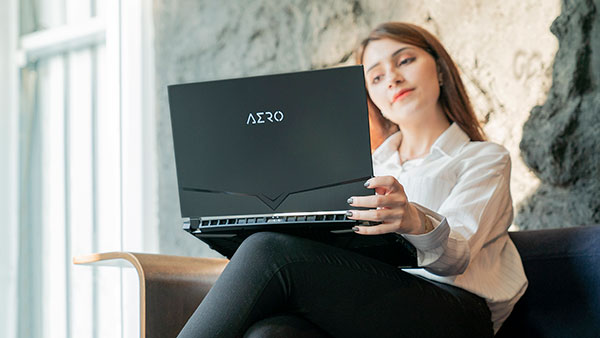 AERO Creator Laptop WFH Work From Home