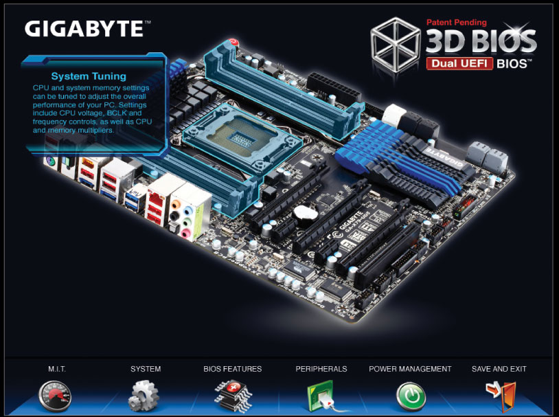GIGABYTE X79 Ultra Durable Motherboards