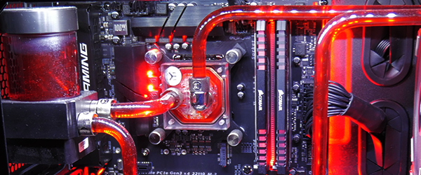 Gigabyte Water Cooling