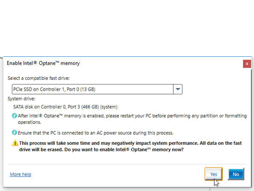 Intel® Optane™ Memory Ready - GIGABYTE