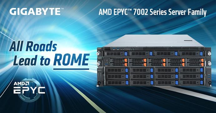 GIGABYTE Unveils AMD EPYC™ 7002 Series Server Family   News