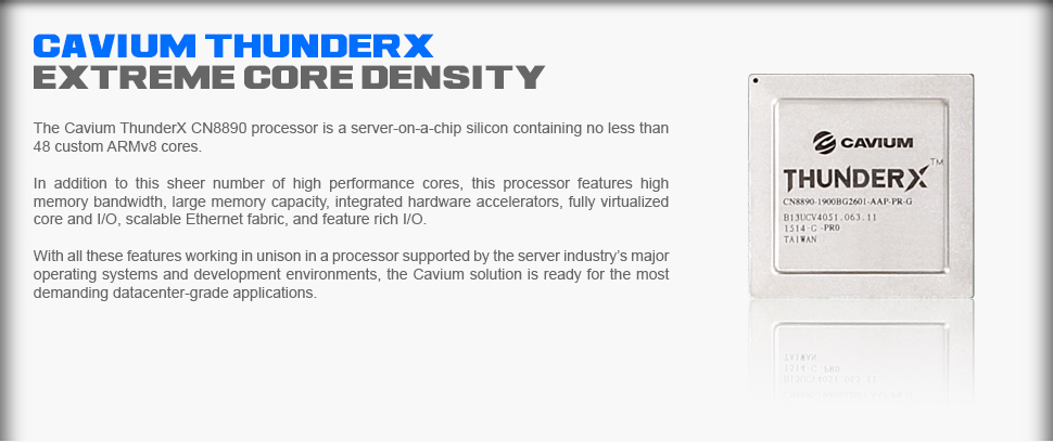 Cavium ThunderX Processor
