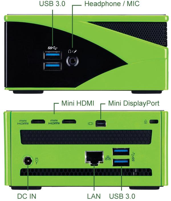 GB-BXi5G-760 (rev  1 0)   Mini-PC Barebone (BRIX) - GIGABYTE