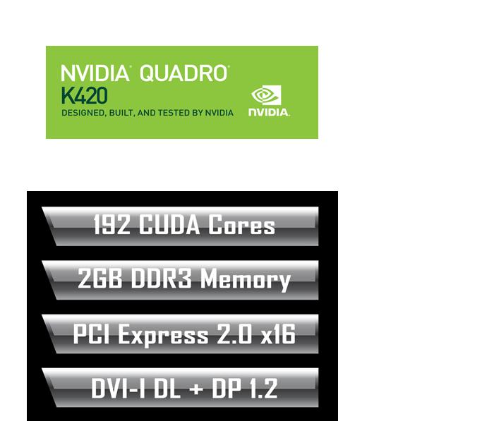 NVIDIA QUADRO K420 (rev  1 0) | Professional Graphics Card