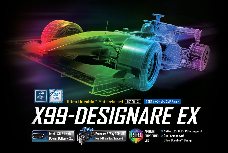GA-X99-Designare EX (rev  1 0) | Motherboard - GIGABYTE Global