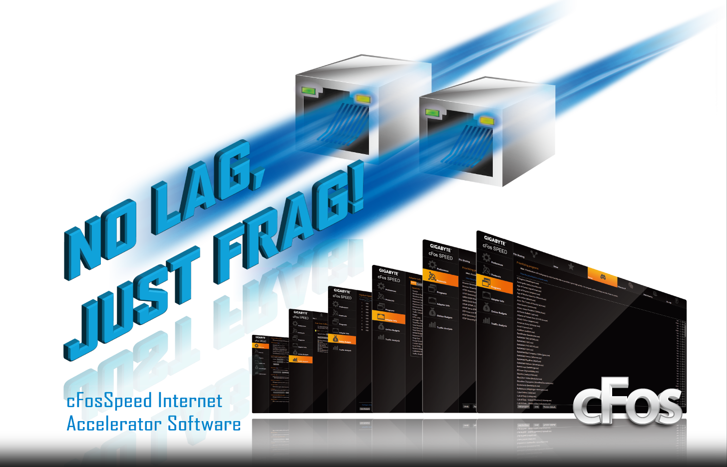 Ga Z170x Designare Rev 10 Motherboard Gigabyte Global Sata To Usb Wiring Diagram With Cfosspeed Features Advanced Technologies Help Deliver Better Network Responsiveness In Crowded Lan Environments And Allows Optimization