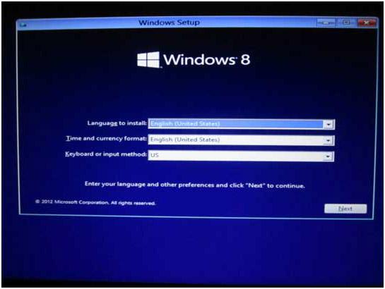 window 8.1 setup for pc