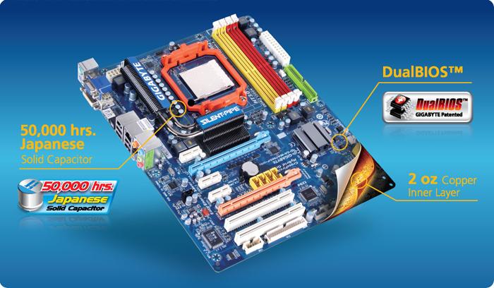 Gigabyte ultra durable 3 ga-890fxa-ud5 desktop motherboard amd.