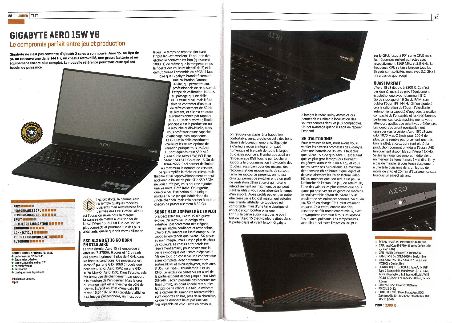 AERO 15 (i7-8750H)   Laptop - GIGABYTE Global 6be6760cd24f
