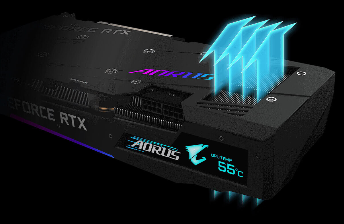 Gigabyte AORUS RTX 3070 MASTER+ Xigmatek Aurora 360 Liquid Cooler + Royal Kludge RK919 RGB Gaming Keyboard 22