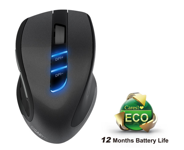 Image result for MOUSE GIGABYTE ECO 600 GAMING WIRELESS