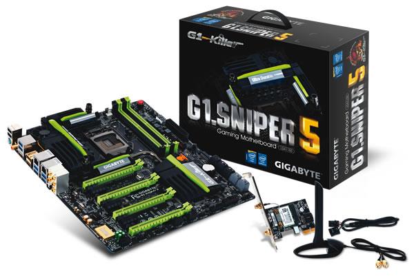 GIGABYTE Unleash 8 Series G1-Killer Gaming Motherboards