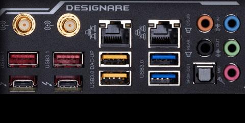 rev. 1.0 GIGABYTE Z390 DESIGNARE BIOS CHIP