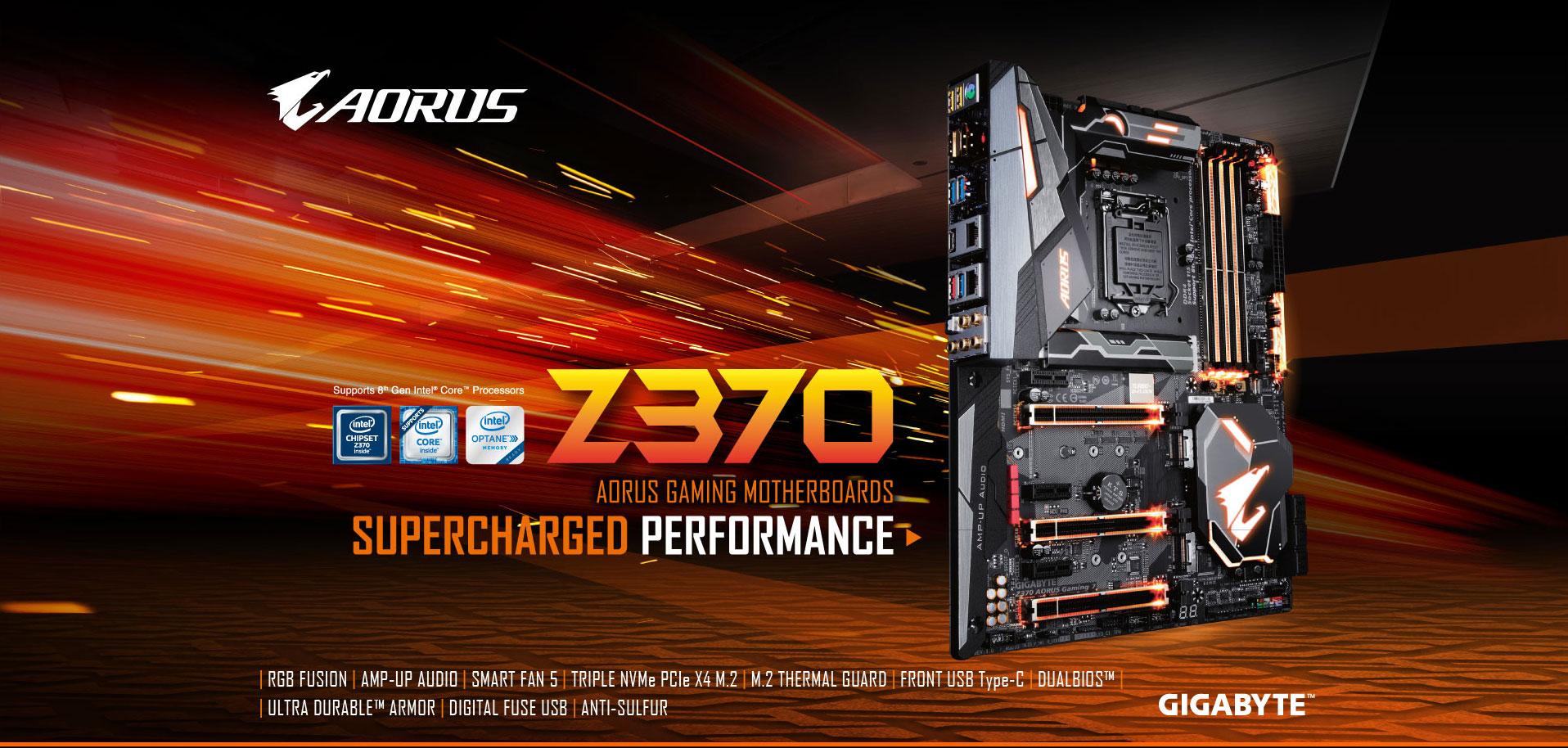 Z370 AORUS Gaming 7 (rev  1 0) | Motherboard - GIGABYTE U S A