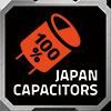 GIGABYTE P650B 650W 80PLUS BRONZE SINGLE RAIL PSU WITH 100% JAPAN CAP 4