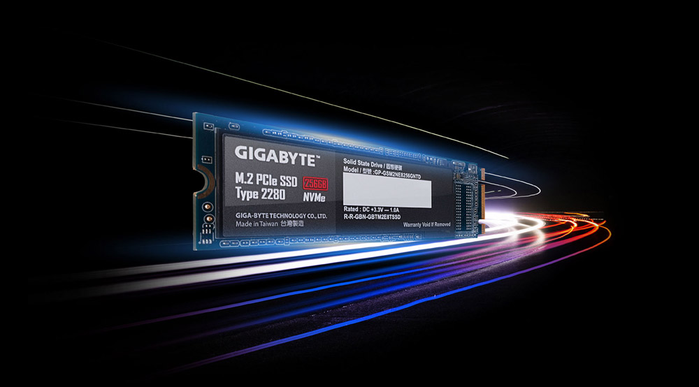 GIGABYTE Bolsters Storage Lineup With NVMe M 2 SSDs   News
