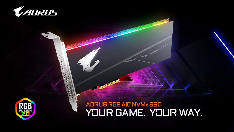 GIGABYTE Upgrades SSD Lineup With AORUS RGB Series   News