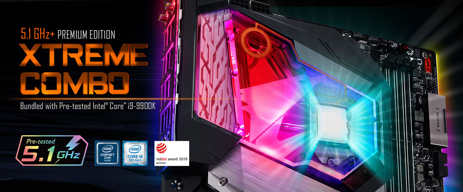 GIGABYTE Launches Z390 AORUS XTREME WATERFORCE 5G Premium Edition